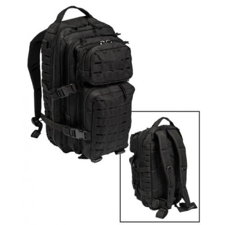 US Assault Pack Laser Cut, groß, schwarz