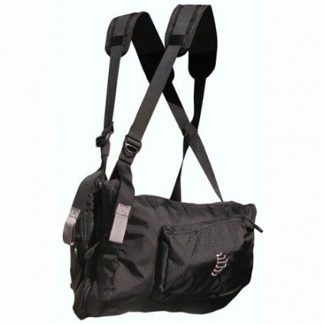 Ribz Frontpack - Stealth Black