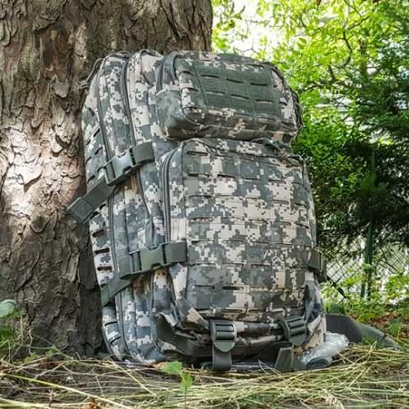US Assault Pack Laser Cut, groß, multitarn digital